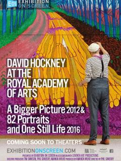 David Hockney at the Royal Academy of Arts
